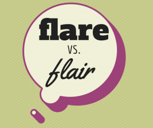 flare vs flair