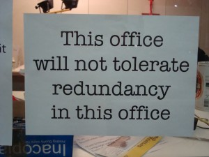 How to Avoid Redundancy