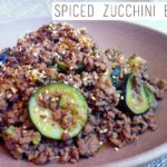 Spiced Zucchini Beef