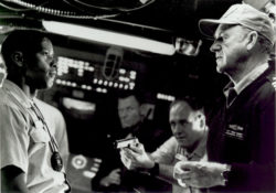 Gene Hackman and Denzel Washington in Crimson Tide