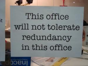 How to Avoid Redundancy