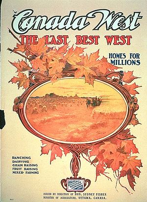 Political Poster — The Last Best West
