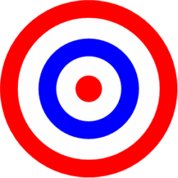 Colored Bullseye