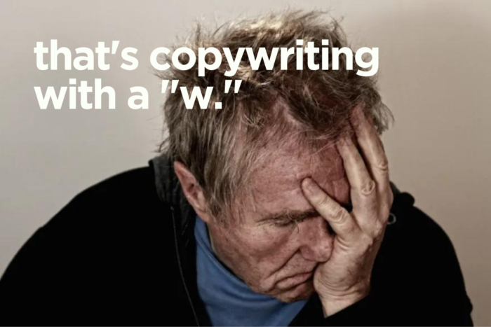 What a great copywriter says