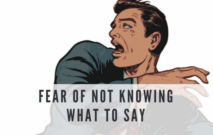 Illustration: A copywriter feels this way all the time: Fear of not knowing