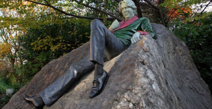 Oscar Wilde Monument in Dublin
