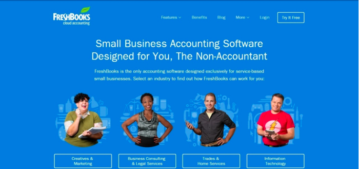 Value prop: Small business accounting software designed for you, the non-accountant