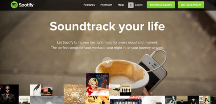 Value prop: Soundtrack your life