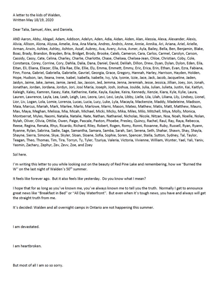 Good copywriting — Sol's letter Pt 1