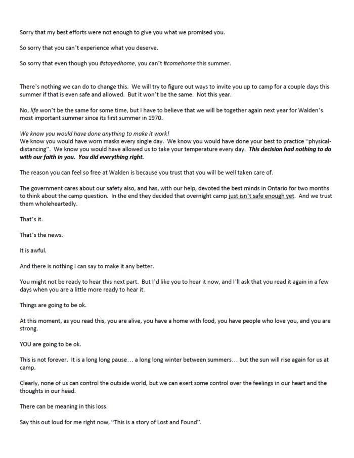 Good copywriting — Sol's letter part 2