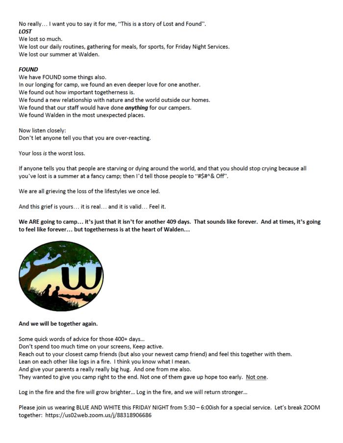 Good copywriting — Sol's letter Pt 3