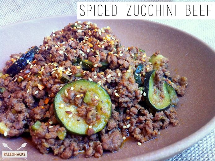Spiced Zucchini Beef