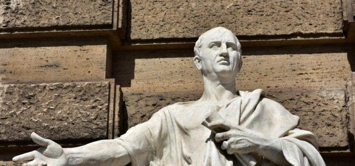 A statue of Cicero