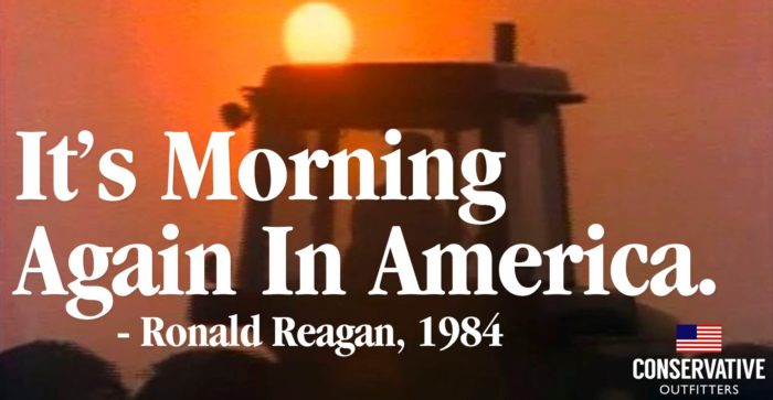 Political Poster — It's Morning in America