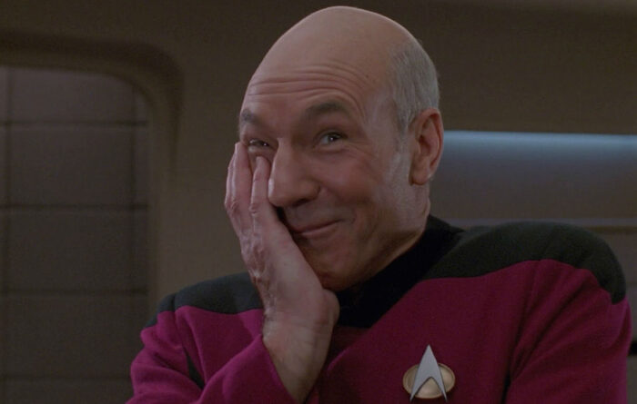 Captain Picard What is a split infinitive