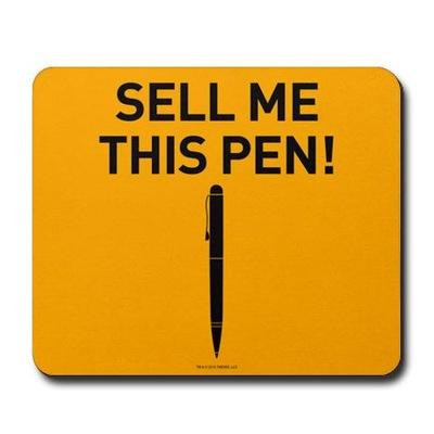 Tech copywriting is all about sell me this pen